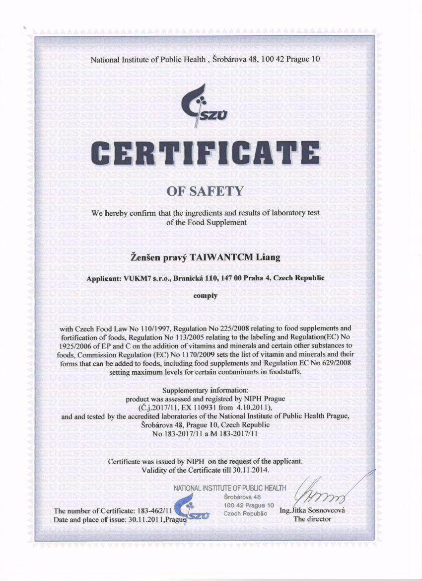 National Safety Certification Compulsory Certification Mandegarfo